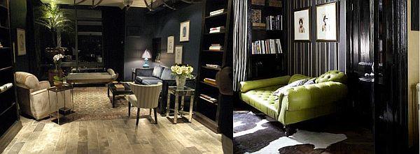 Dark Decoration For Living Room