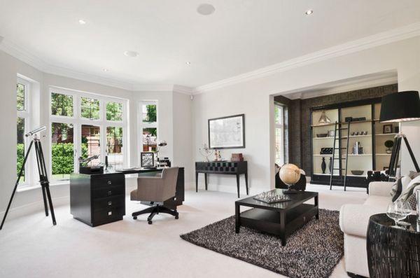 Black Bedroom Interior Design Ideas