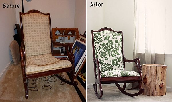 Image result for before and after reupholstered