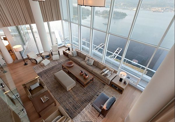 Modern Penthouse Apartment In Downtown Vancouver By Robert