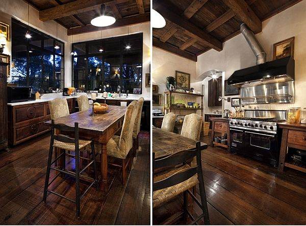 Contrastive House In Austin Texas Combining Antique