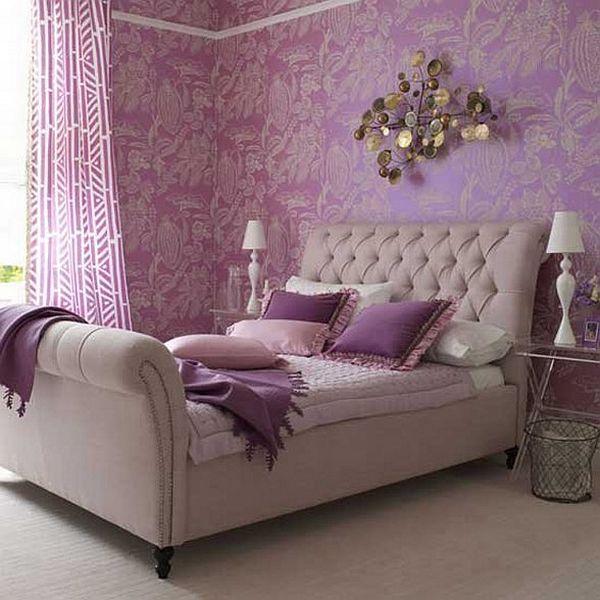 Bedroom Purple Home Decor Novocom Top