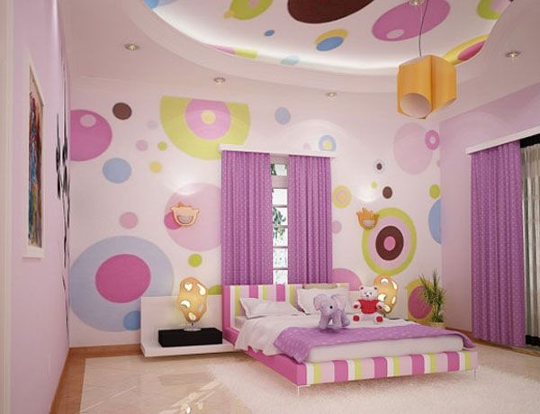 room for teens girl pink picture3 Girls Bedroom Ideas