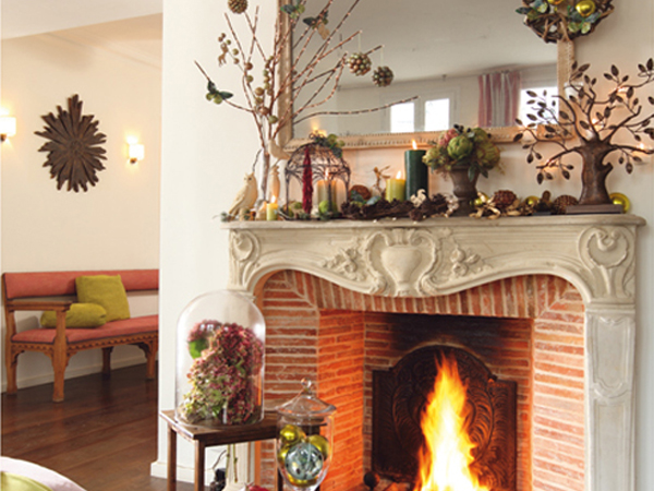 Fireplace Mantel Decorating Ideas Photos