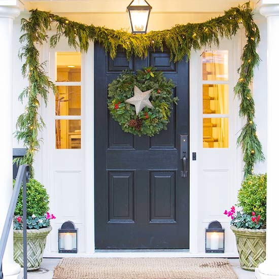 ***CHRISTMAS DECOR*** BEAUTIFUL SHIMMERING GREEN & SILVER ...