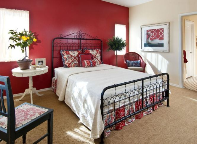 White And Red Wall Decor With Neutral Lighting In Kids Bedroom Choosing The Paint To