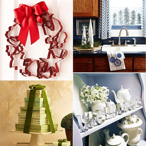 24 Christmas Decoration With Kitchen Items