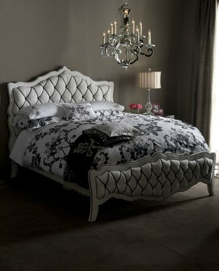 The Luxury Monique Bed And Nightstand Collection