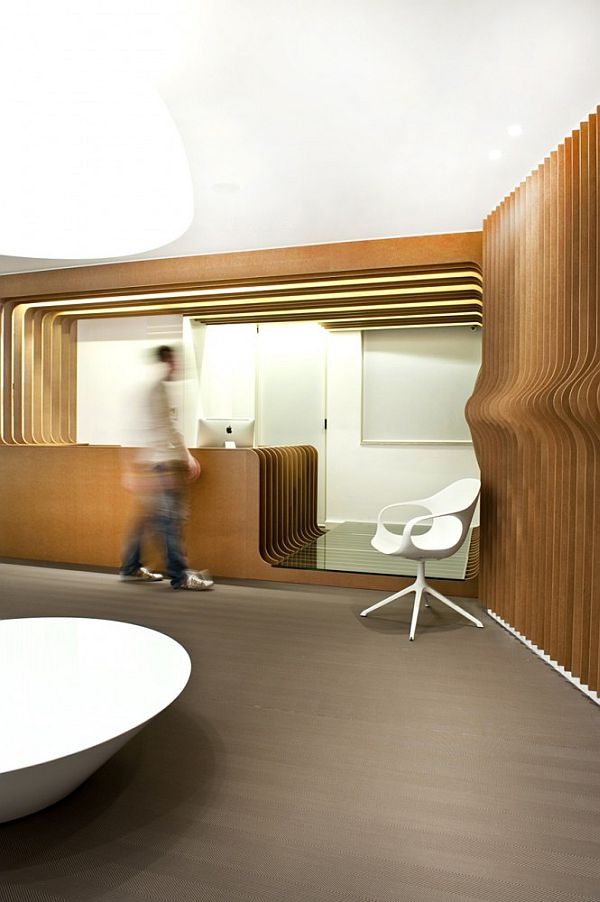 Office Reception Lighting