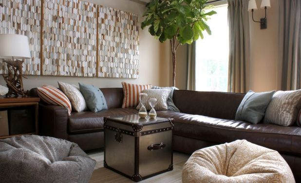 Curtains To Match Dark Brown Leather Sofa Www