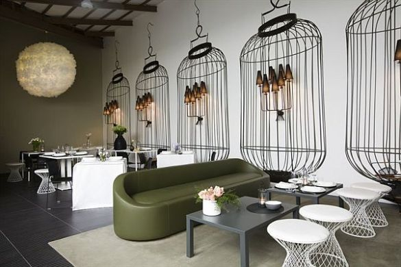 The Home Delicate Restaurant Interior Design by Logica architettura