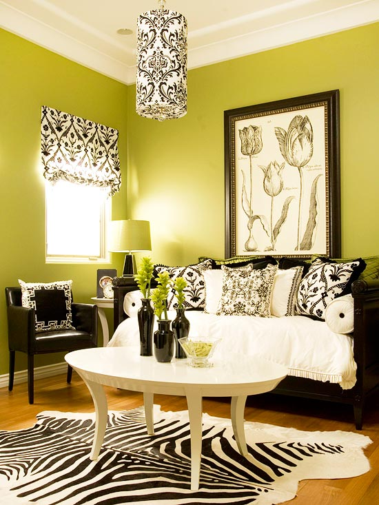 15 Green Living Room Design Ideas Part 47