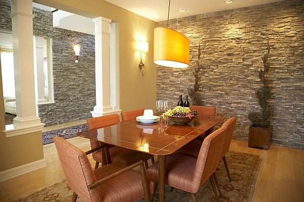 Choose Stone and Brick For Interior Design View in gallery