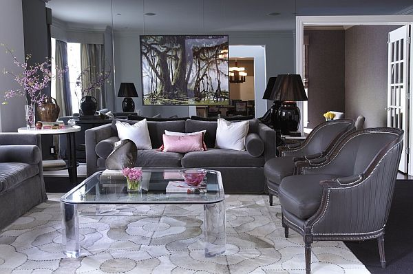 Gray Family Room Decorating Ideas