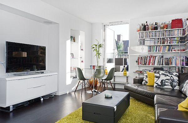 Modern Stockholm Apartment With Roof Terrace