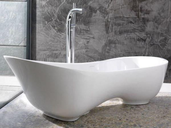 Asymmetric Bathtub From Cabrits
