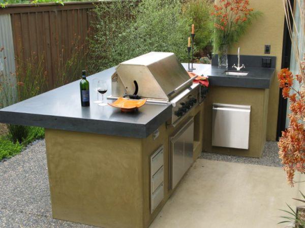 La cucina in giardino consigli e come realizzare guida - Cucina da giardino ...