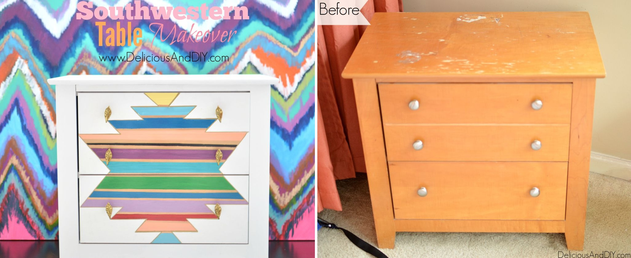 5 Shabby Chic Makeovers You Can Use On Your Old Nightstand