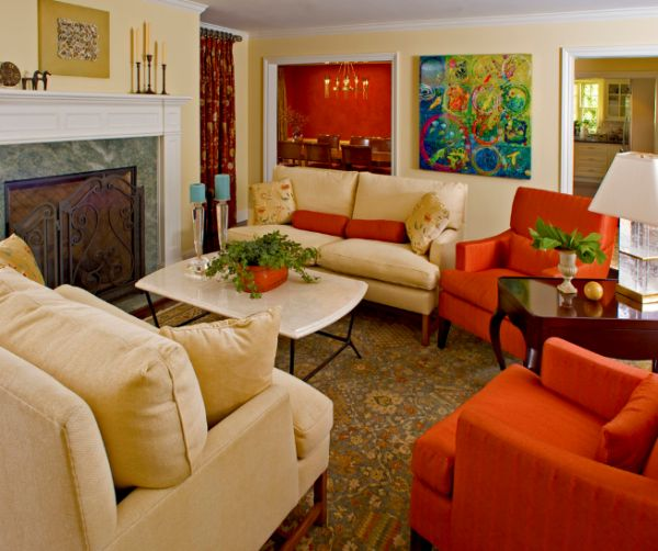 10 Traditional living room d    cor ideas View in gallery A surprisingly colorful living room