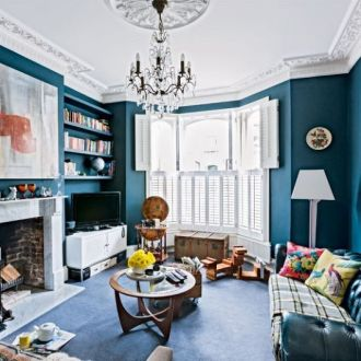A classical British style home interior