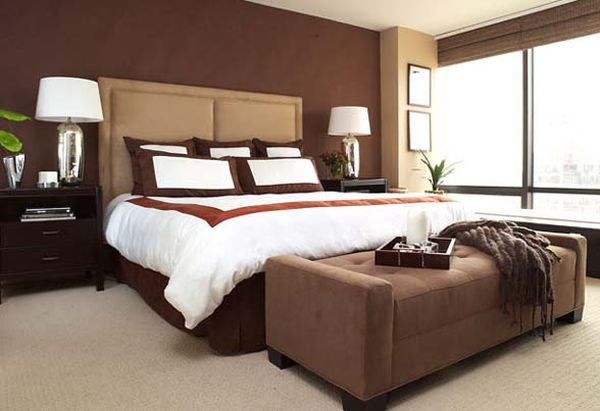 chocolate brown bedrooms: inspiration & ideas