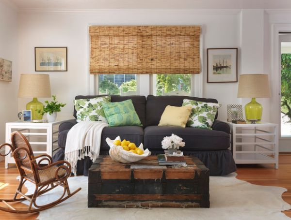 13 Creative Ideas For Using Trunks In Your Interior Dcor