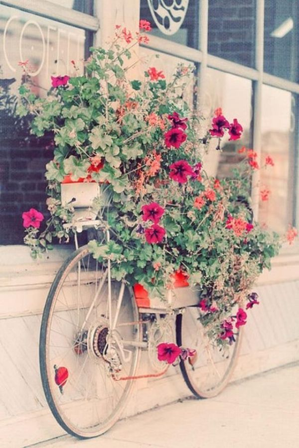 Give your old bike a second chance and turn it into a beautiful and     View in gallery