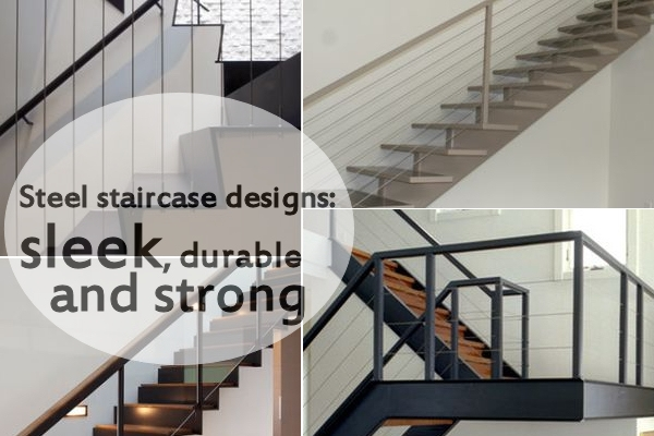 10 Steel Staircase Designs Sleek Durable And Strong | Modern Steel Staircase Design | Small House | Beautiful | Handrail | Solid Steel | Gallery