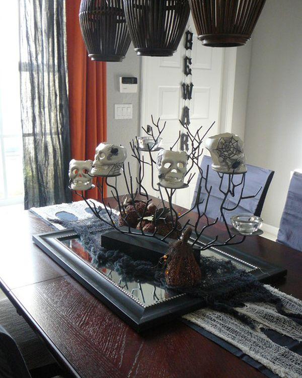 inspiring halloween table decorations