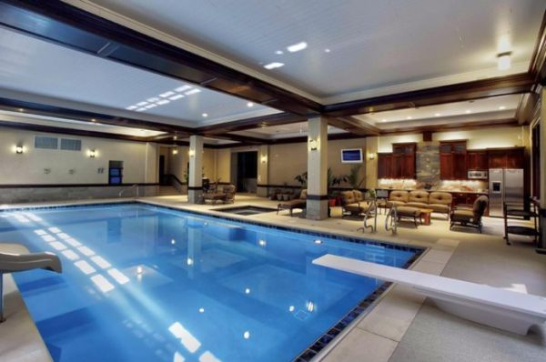 Beautiful, Stunning Indoor Pools