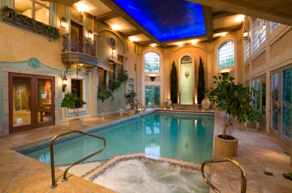 Beautiful Stunning Indoor Pools Refreshing Reminders Of