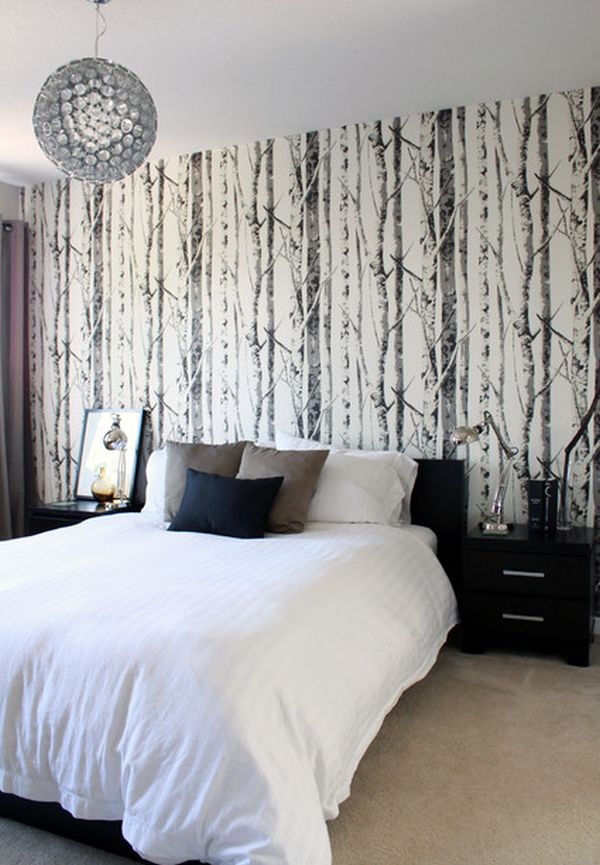 15 Bedroom Wallpaper Ideas Styles Patterns And Colors. Black Wallpaper For Bedroom   Bedroom Style Ideas