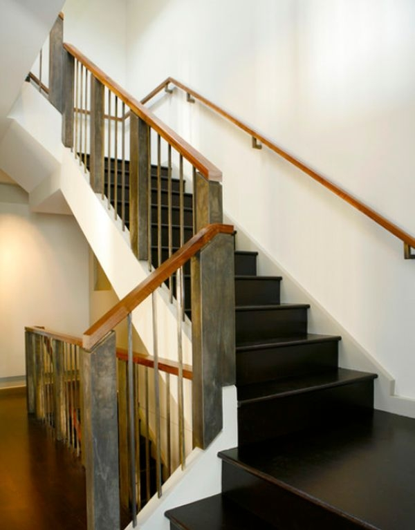 Modern Handrail Designs That Make The Staircase Stand Out | Modern Wood Stair Railing | Creative Outdoor Stair | Traditional | Indoor | Balustrade | Cherry Wood