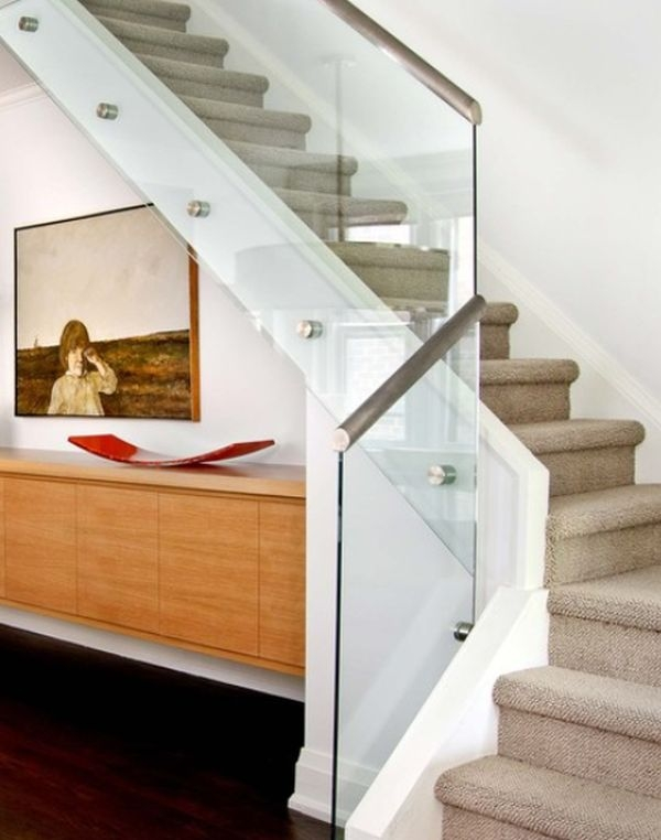 Modern Handrail Designs That Make The Staircase Stand Out | Duplex Staircase Railing Designs | Indoor | Wooden | Grill | Two Story House Stair | Floor To Ceiling