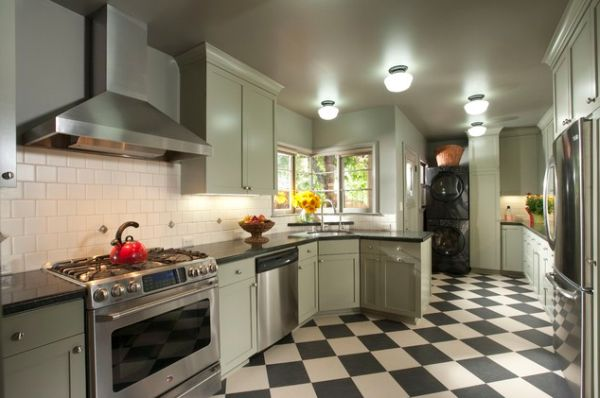L Shaped Small Kitchen Pictures