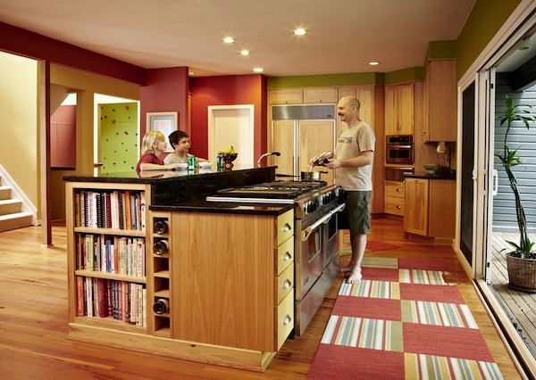 Kitchen Colorful Rug Remember Your Lifestyle