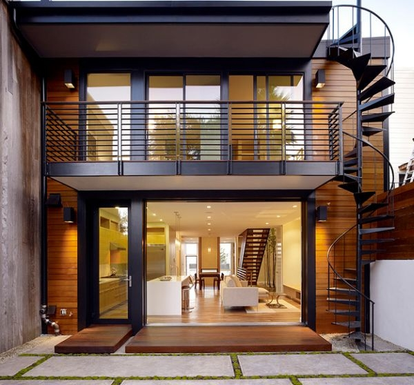 How To Design Exterior Stairs   Designs Of Stairs Outside House