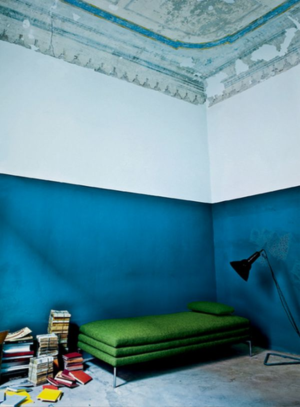 Paint Dipped Walls A Colorful Trend In Interior Dcor