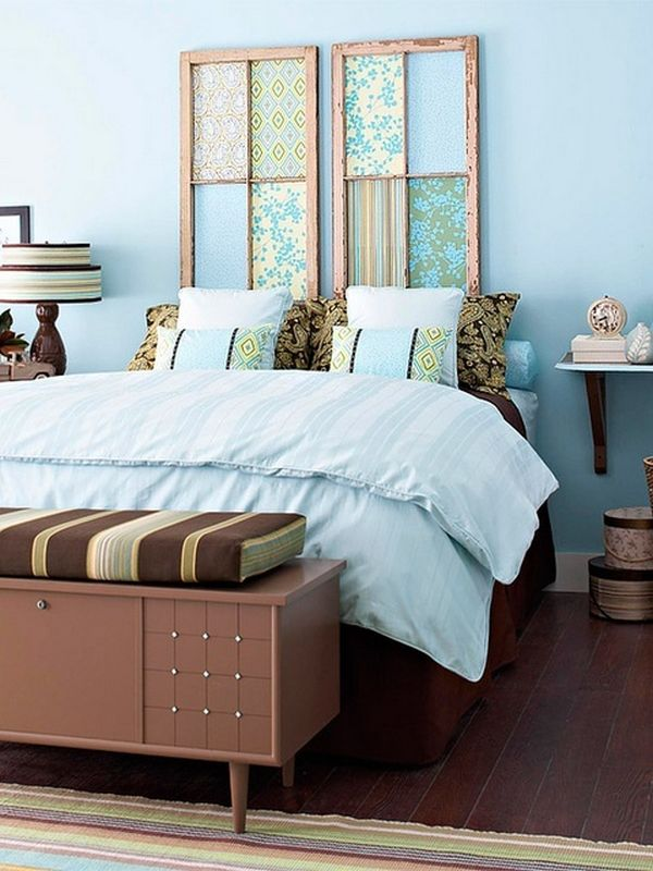 Top 10 Best Uses For Old Windows Make a headboard