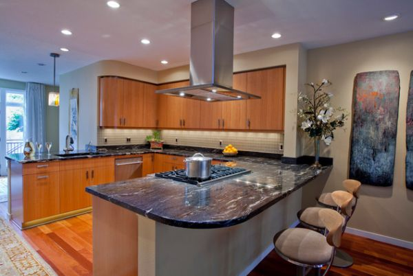 How A Beautiful Kitchen Island Hood Can Change The Decor In Your Kitchen