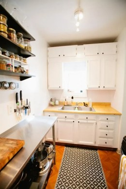 A Collection Of 10 Small But Smart Kitchen Interior Designs View in gallery In a narrow kitchen