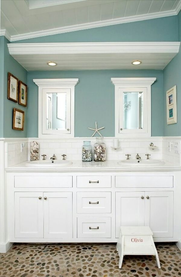 Tranquil Colors Inspired By The Sea 11 Bathroom Designs