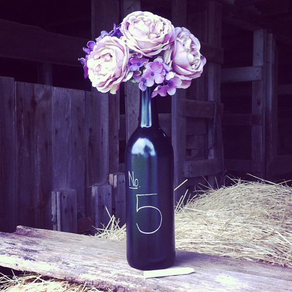 Diy Wine Bottle Centerpieces