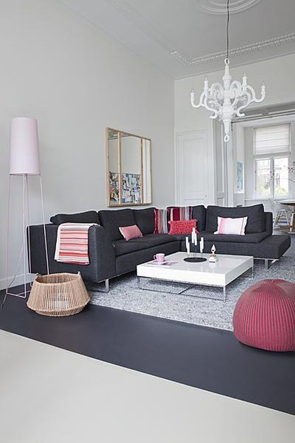 12 Living Room Ideas For A Grey Sectional Hgtv S Decorating With Part 93