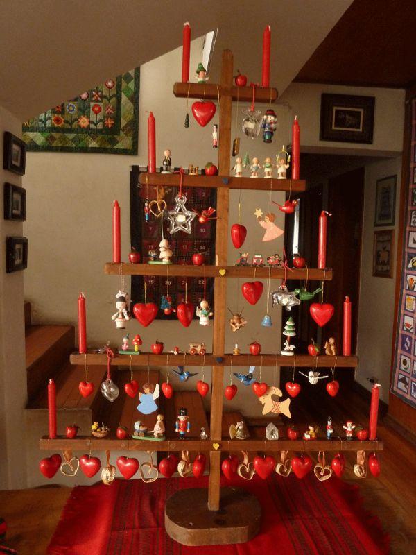 Swedish Wooden Christmas Tree Ornaments