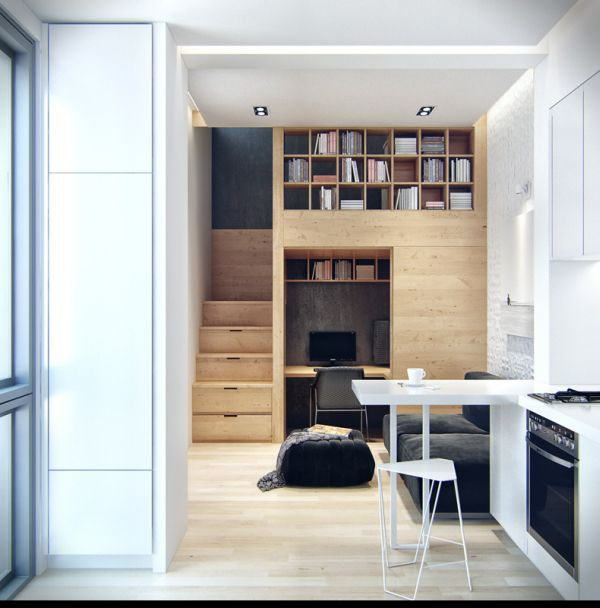 Small Apartments Are The Homes Of