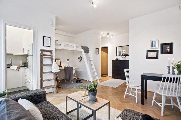design in a 29 square meter gothenburg