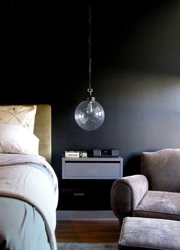 Dark Amp Moody Walls For A Cozy Bedroom
