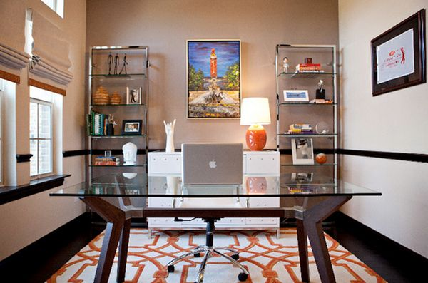 Give Your Office A Clear And Chic Look With A Glass Top Desk