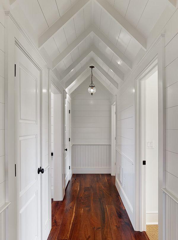 hallways look bigger brighter